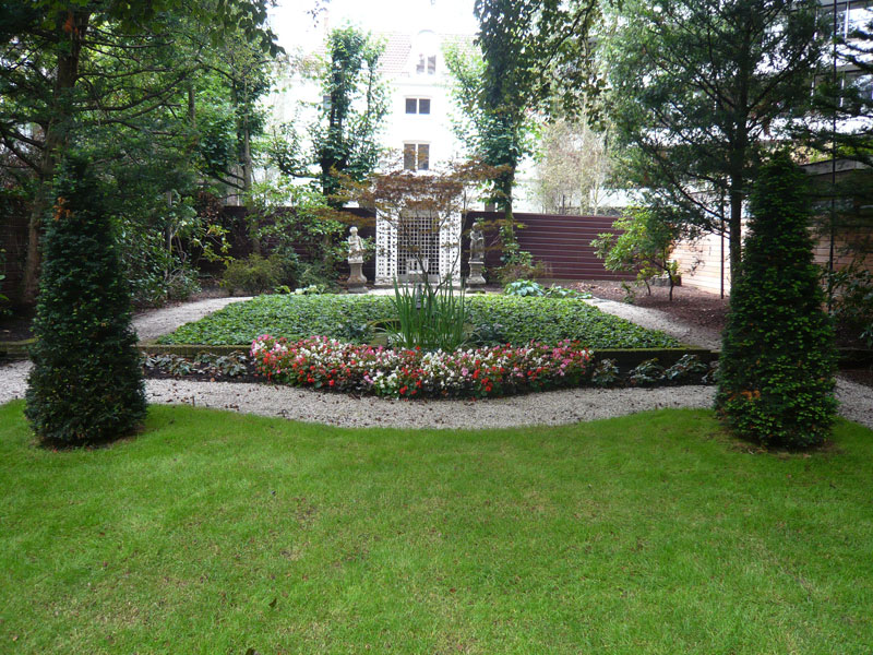 Renovatie Smalle Tuin : Saskia albrecht historische tuinen
